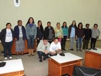 Estudantes do EJA conhecem Legislativo