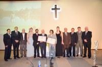 Reconhecimento- Lauro Lopes e Glaci recebem título