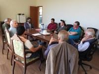Sutil reúne-se com representantes do Fórum de Entidades