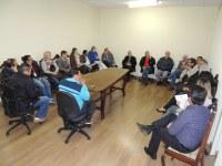 Vereadores reúnem-se com Comissão da Planta Genérica