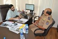 Presidente e Comandante conversam sobre Segurança Pública