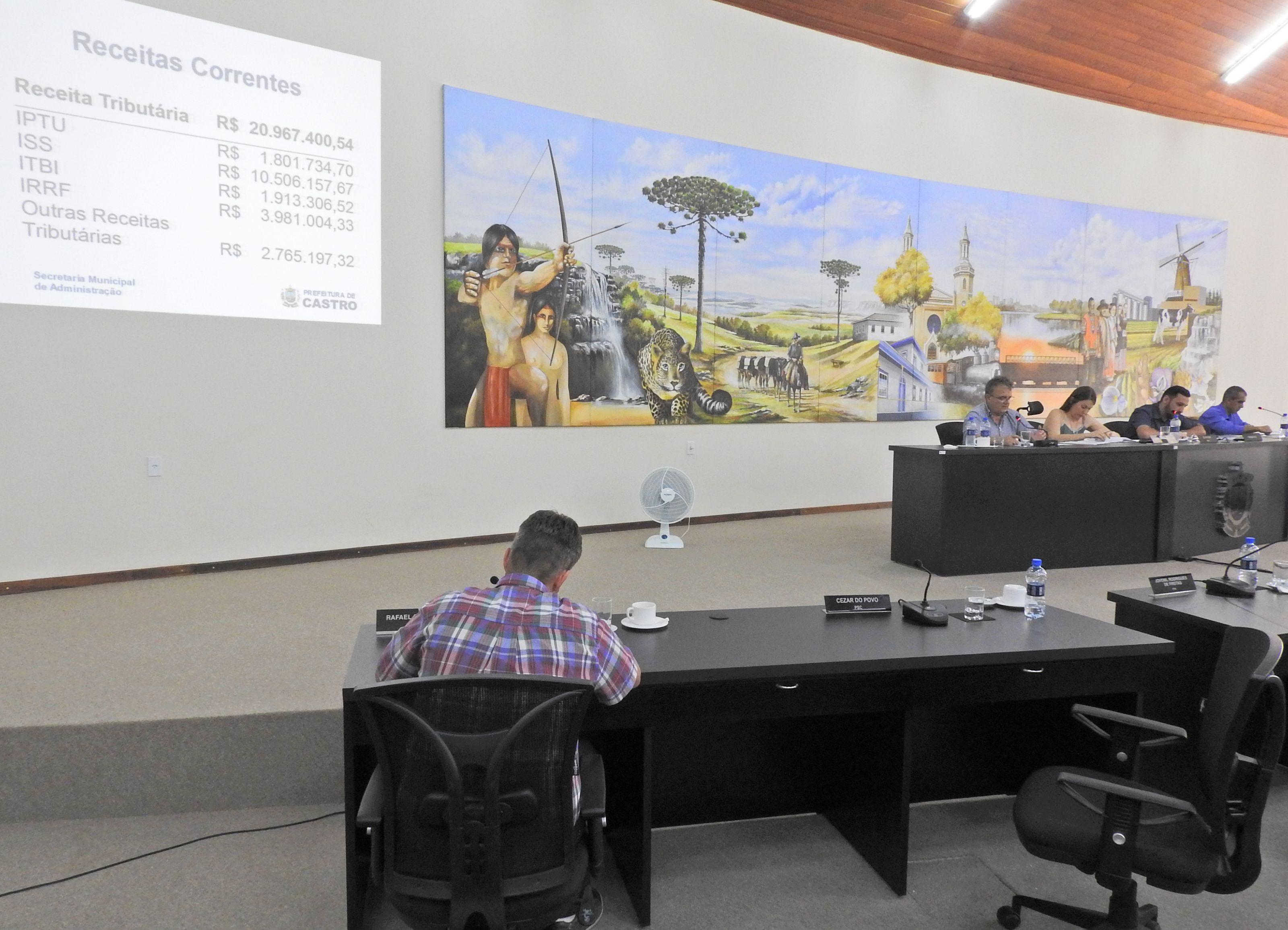 Audiência Pública apresenta as Metas Fiscais do 3º Quadrimestre de 2016