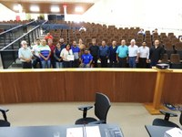 Câmara de Castro recebe o título de Amigo da APAE