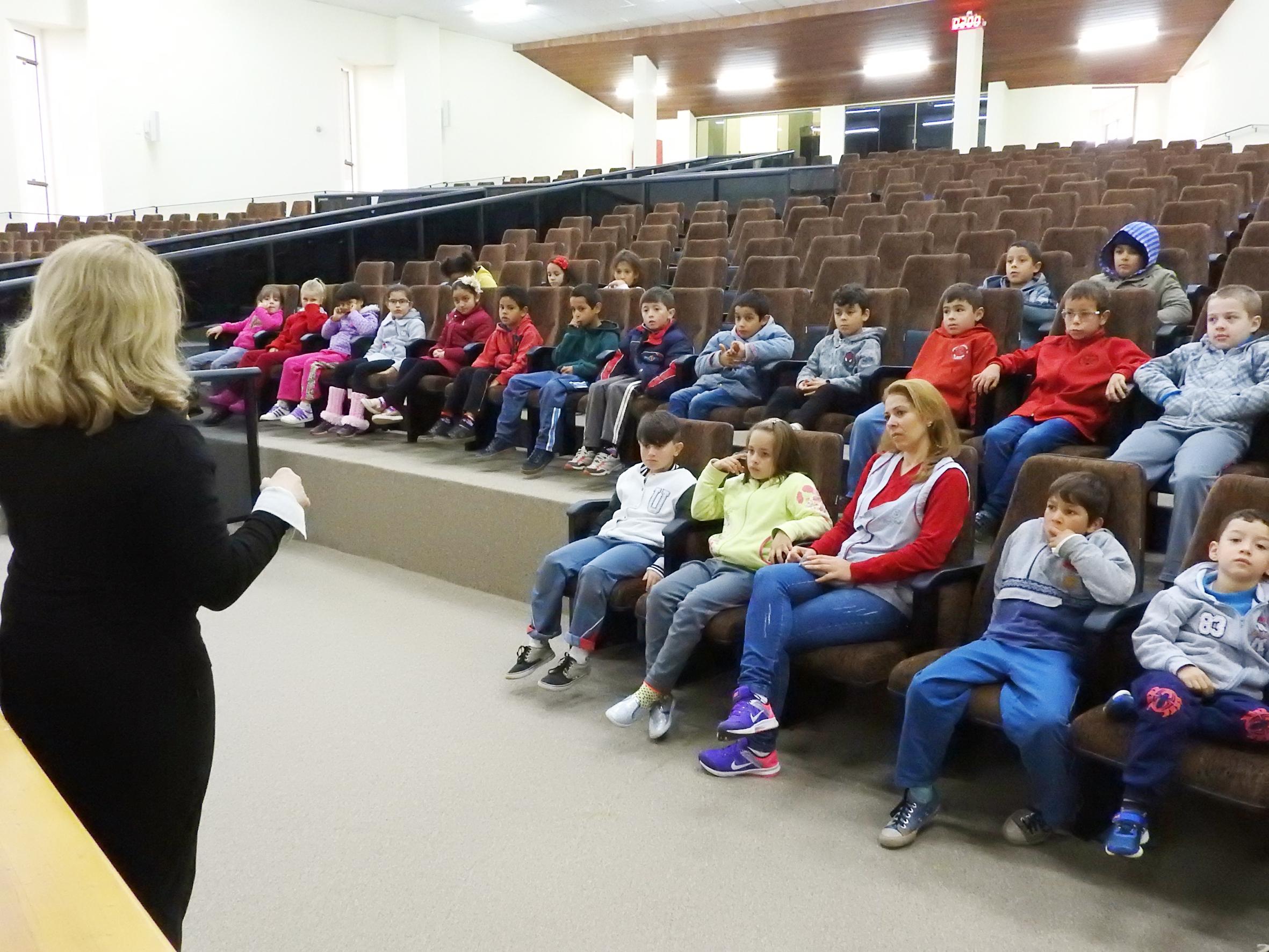 Escola Municipal da Vila do Rosário participa do Praticando Cidadania