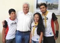 Missão Calebe visita a Câmara de Castro