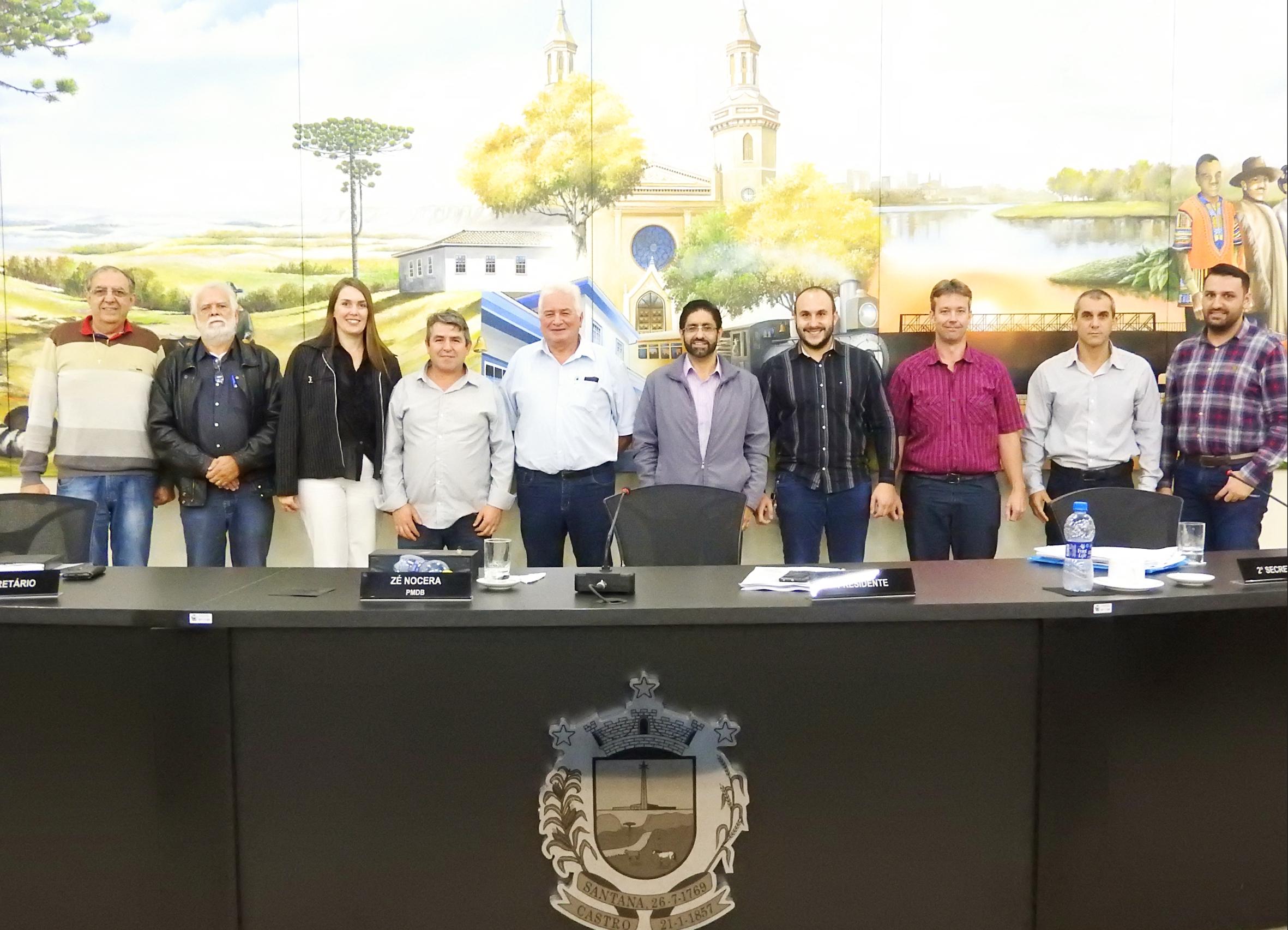 Sessão recebe visita de vereador de Mafra/SC
