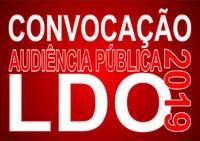 LDO 2019 - AUDIÊNCIA PÚBLICA