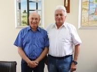 Osmar Serraglio visita a Câmara Municipal de Castro