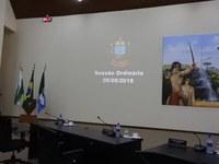 Sessão Ordinária de 05 de Setembro de 2018
