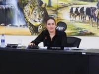 Vereadora Fátima empossada como Conselheira Estadual das Cidades