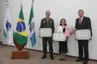 Cidadãos Honorários de Castro recebem título em Sessão Solene