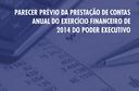 Parecer Prévio da Prestação de Contas do Poder Executivo de 2014