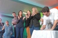 Vereadores prestigiam visita do Governador a Castro