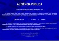 LEI DE DIRETRIZES ORÇAMENTÁRIAS (LDO) 2021