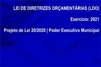 Lei de Diretrizes Orçamentárias (LDO) - Exercício 2021