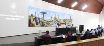 Plenário durante a leitura de Ofícios Recebidos